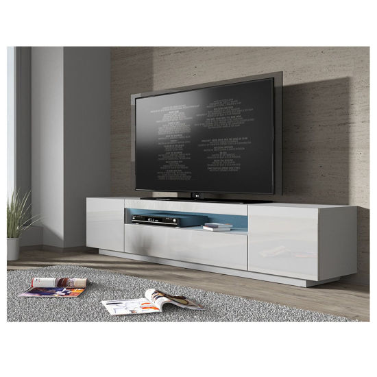 200cm High Gloss Front Rgb Led Tv Stand