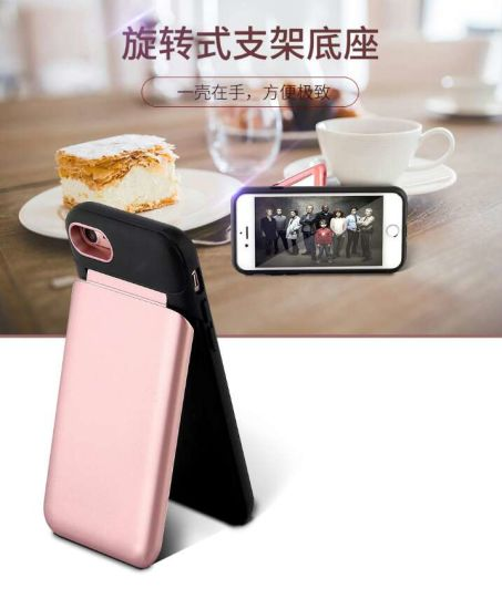 New Arrival Mirror Phone Stand Mobile Case for iPhone 8