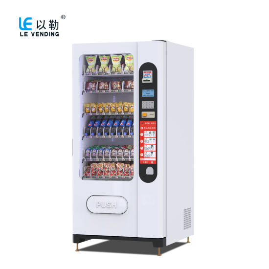for Vietnam Market High Quality Snack and Cold Drink Vending Machine LV-205f-a