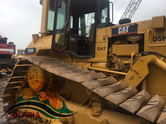 China Used/Secondhand Caterpillar Bulldozer D5h for
