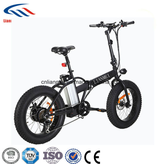 20inch Folding Fat Wheels Electric Bike pictures & photos