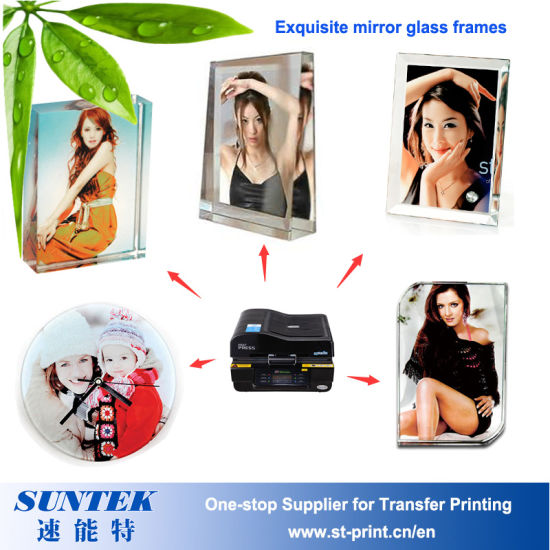 China Wholesale Sublimation Heat Transfer Blank Glass Photo Frames ...