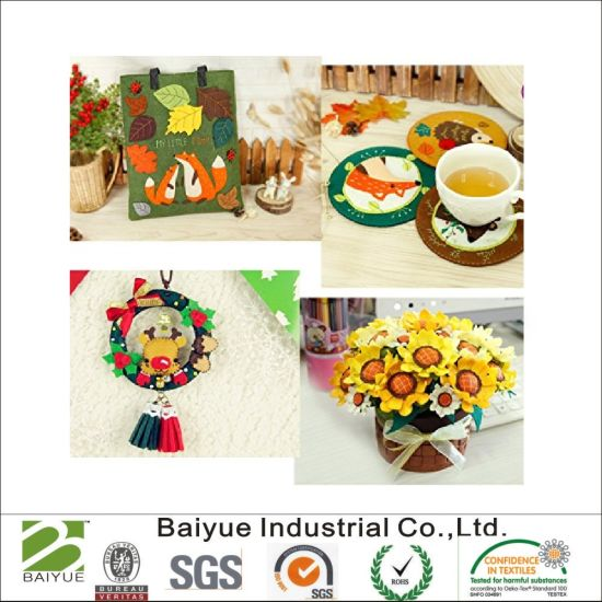 China Colorful Polyester Felt For Handicrafts And Diy Toys China