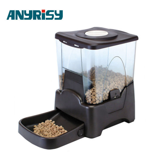control products arf dispenser to for automatic up dogs dog feeder voice day with food a recording cats portion meals alarms timer delfin pet programmable distribution features pets