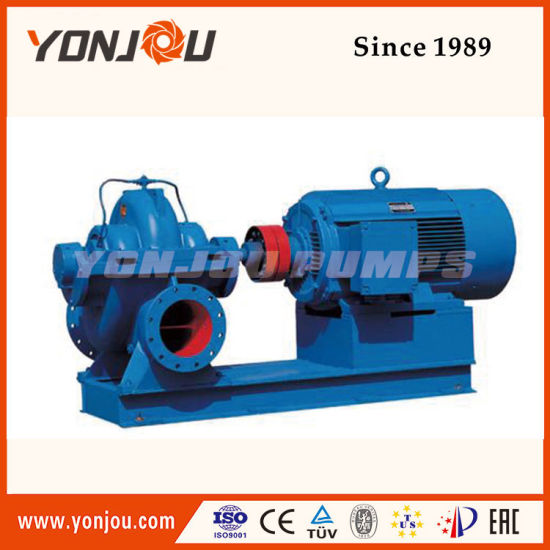 S/Sh Series Double Suction Centrifugal Water Pump pictures & photos