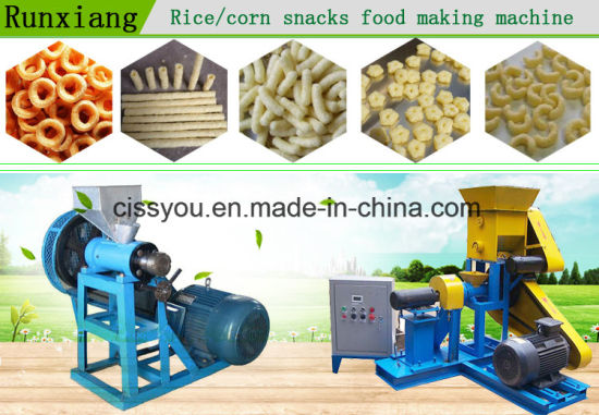 Grain Snack Extruder Rice Snack Puffing Making Machine pictures & photos