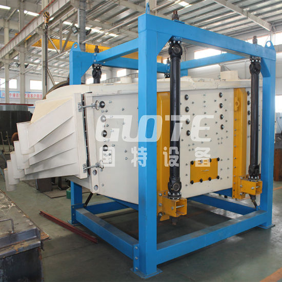 Large Capacity High Efficiency Square Tumbler Screen Gyratory Screen for Sand Sieving