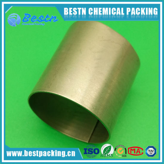 Low Pressure Drop Metallic Raschig Ring Used for Desorption in Water Treatment pictures & photos