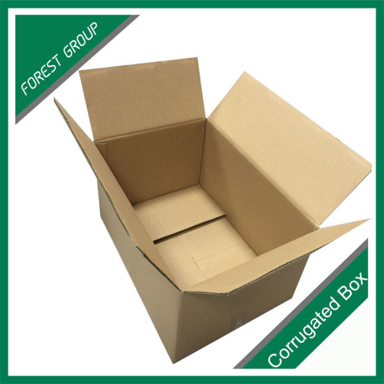 Double Wall Be Flute Brown Corrugated Paper Shipping Carton Box pictures & photos