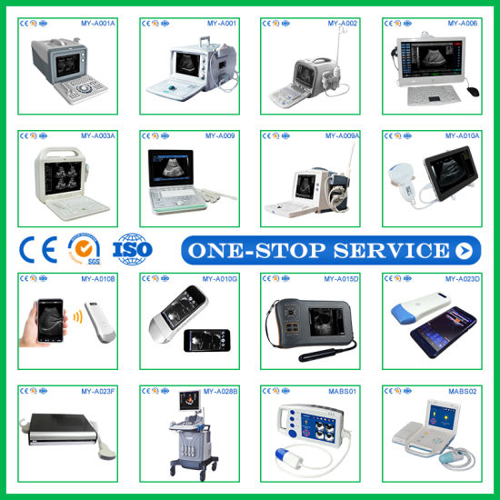 High Quality Medical Ultrasonic Diagnostic Equipment Digital B Ultrasound Machine Price Ultrasound Scanner pictures & photos