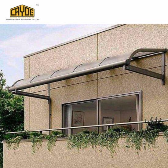 China Aluminum Frame Polycarbonate Customized Awning Carport