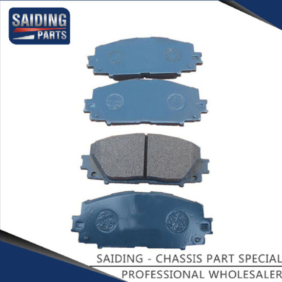 Car Brake Parts >> Car Brake Pads For Toyota Yaris Auto Parts 04465 52200