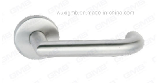 High Quality #304 Stainless Steel Wooden Door Handle/Lever Handle (SH99-SY10-SS) pictures & photos