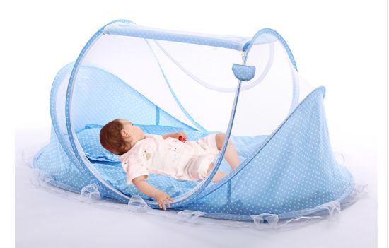 Wholesales New Design Portable Foldable Baby Sleeping Umbrella Mosquito Net