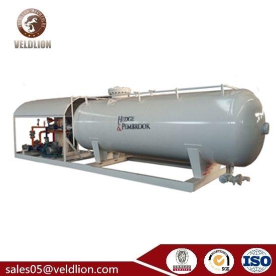 ASME Standard 20 Cbm/20cbm/20m3/20 Cubic Meter Mobile Tank LPG Filling Skid Station