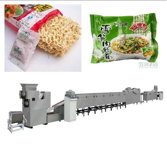 Automatic Industrial Roller Instant Noodle Making Machine
