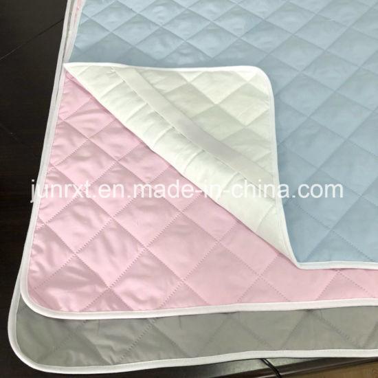 China Soft Waterproof Portable Crib Mattress Protector Baby Solid