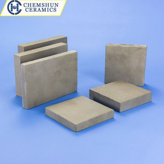 Pressureless Sintered Silicon Carbide Ssic Armor Ceramic Wear Resistant Substrate Plate