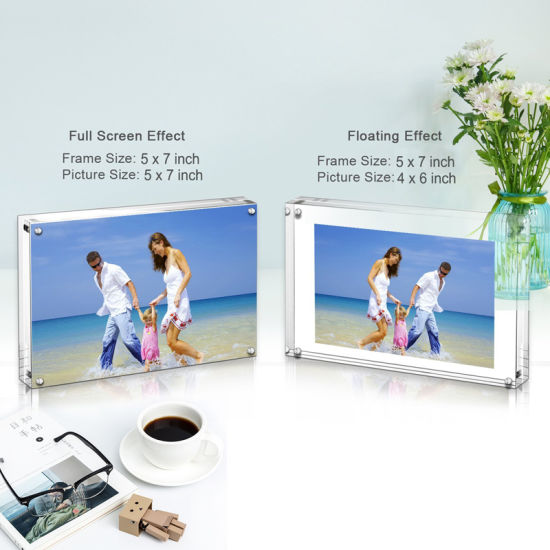 China 2018 New 3X2 Photo Frame Acrylic Crystal A1 A2 A3 A4 A0 Poster