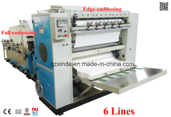 China Automatic Box-Drawing Facial Tissue Paper Machine (CIL