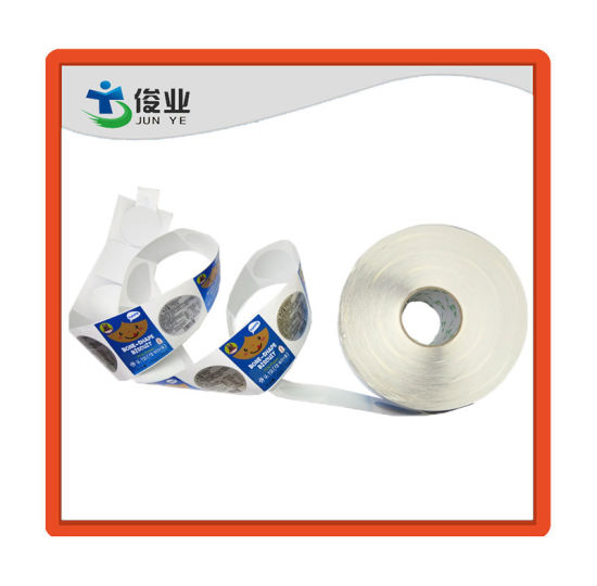 Fashion Smooth Surface Food Paper Sticker/Customized Printing Label