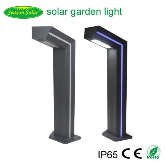 High Power LED Sensor Outdoor Lighting Landscape Solar LED Garden Lighting with Blue LED Strip Lighting
