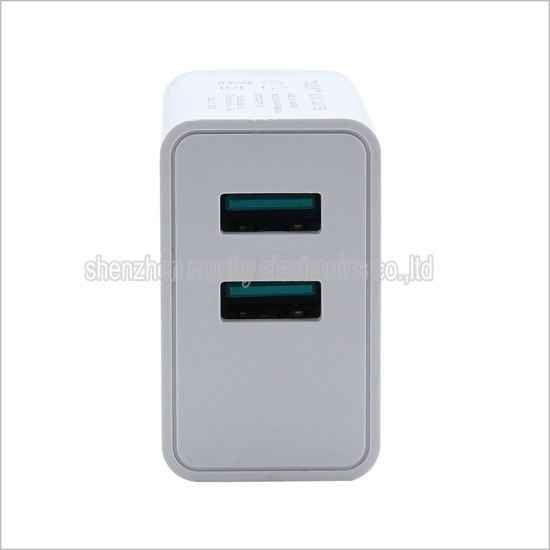 2 USB Mobile Phone Charger with Ce Certificate pictures & photos