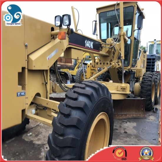 Used Cat Construction Machinery Caterpillar 140 Motor Grader with Ripper