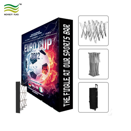 Exhibition Pop up Display Stand Backdrop Wall Advertising Equipment pictures & photos