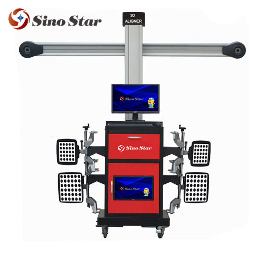 Europe 3D Wheel Alignment /Car Inspection Equipment/ 3D Used Wheel Alignment Machine for Sale (SS-3D-A2 PLUS) pictures & photos