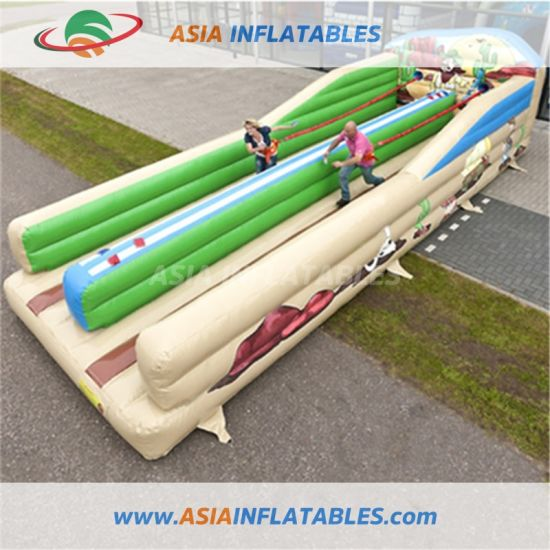 Customized Bungee Run Inflatable Bungee Running Training Games