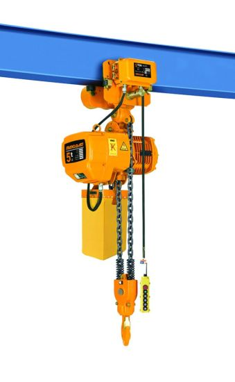 Lift King Brand 7.5 Ton Motorized Material Handling Equipment Electric Chain Hoist pictures & photos