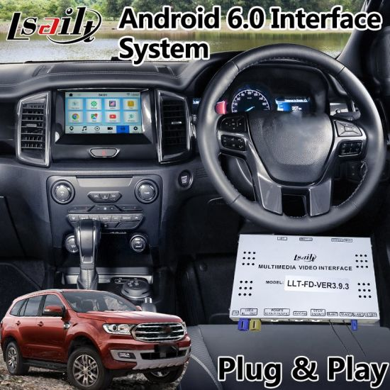 china android 6.0 auto navigation interface for ford everest sync 3