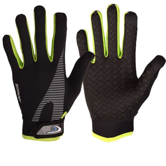 Winter Warm Protective Black Touchscreen Tactical Sport Silica Gel Cycling Velvet Glove
