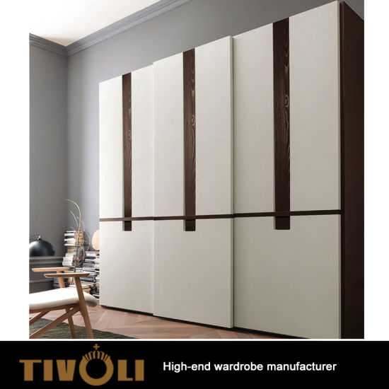 China Compact Country Cheap MDF China Made Color Modular Colored Glass  Wardrobe Cabinet Doors TV 0397