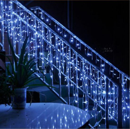Icicle For Christmas Trees.Wholesale Christmas Tree Decoration Led Snowing Icicle Lights