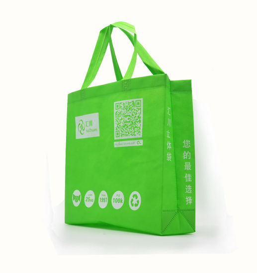 Customized Logo Shopping Nonwoven Bag for Supermarket
