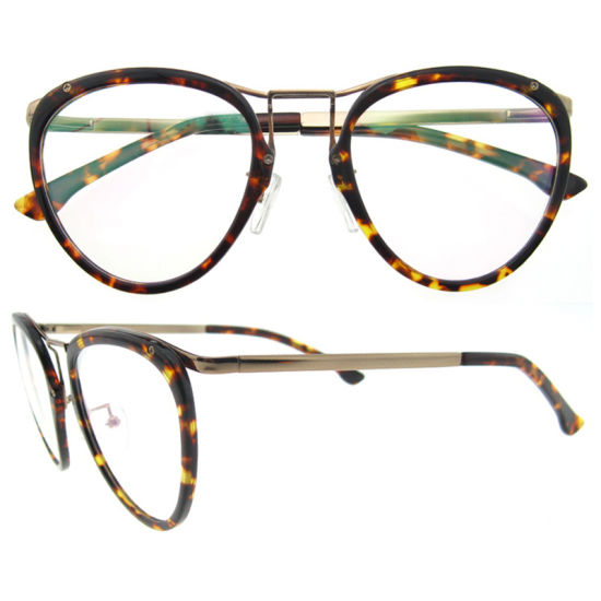 a546bed8ce0 Direct Factory Round Fancy Glasses Frames Acetate Eyeglassesframes Women  pictures   photos