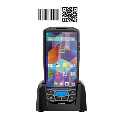 4G Wireless 2D Barcode Scanner Android Handheld PDA with NFC, GSM, WiFi, Bluetooth, GPS