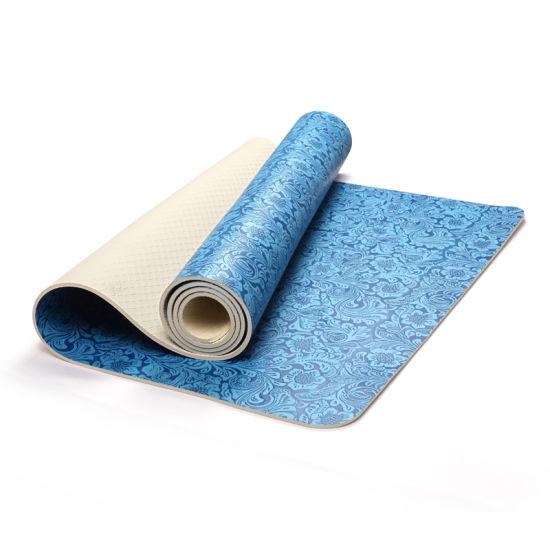 Hot Sale Factory Price Custom Print Neoprene Yoga Mat for Fitness