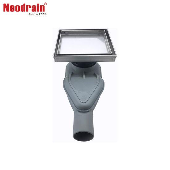 Neodrain F1782 Rotato Square Shower Drain With Tile Insert Drain