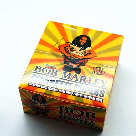 china bob marley 110mm 50 booklets pure hemp cigarette rolling