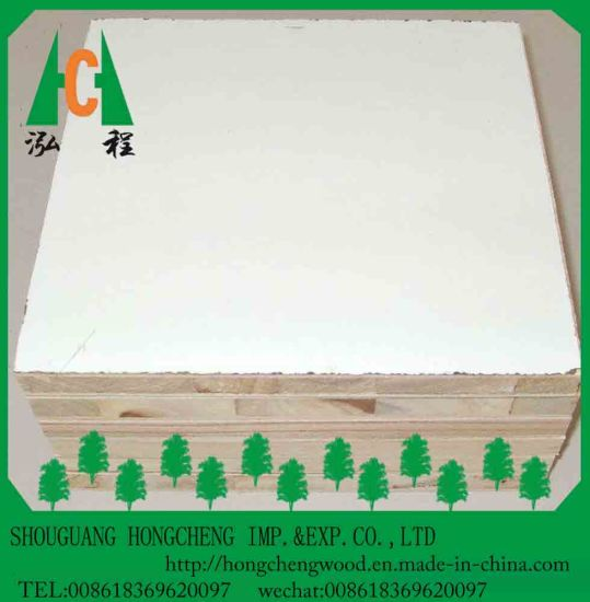 Higt Quality Melamine Faced Block Board with Best Price pictures & photos