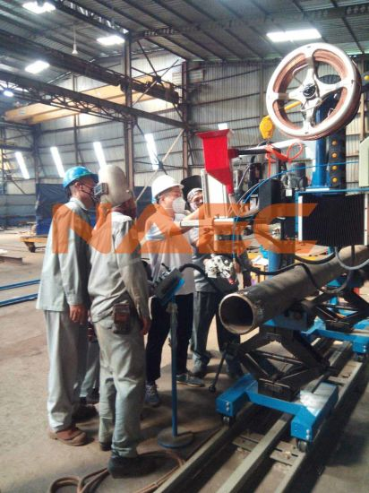 Automatic Pipe Spool Welding Station 2''-24''