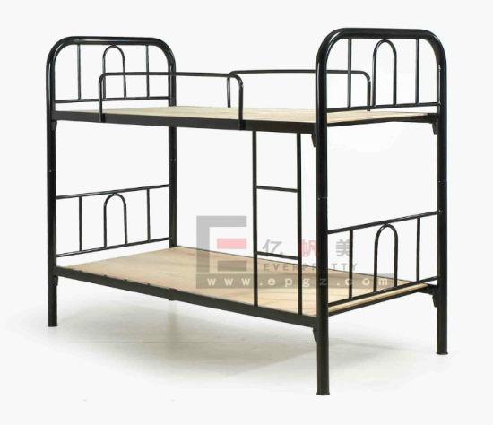 School Dormitory Furniture Student Metal Bunk Bed Frame