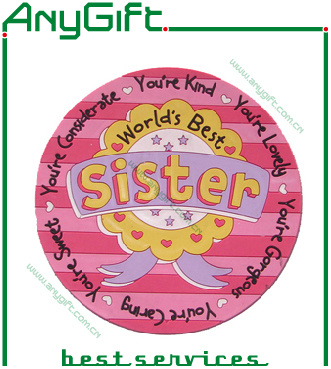 2D PVC Coaster with Customized Logo and Color pictures & photos