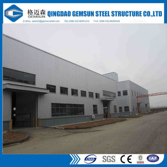 China Industrial Shed Design Prefabricated Building Big Steel
