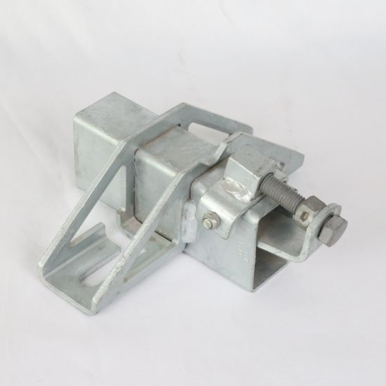 Customized Sheet Metal Elevator Bracket Stamping Part with Zinc Plating