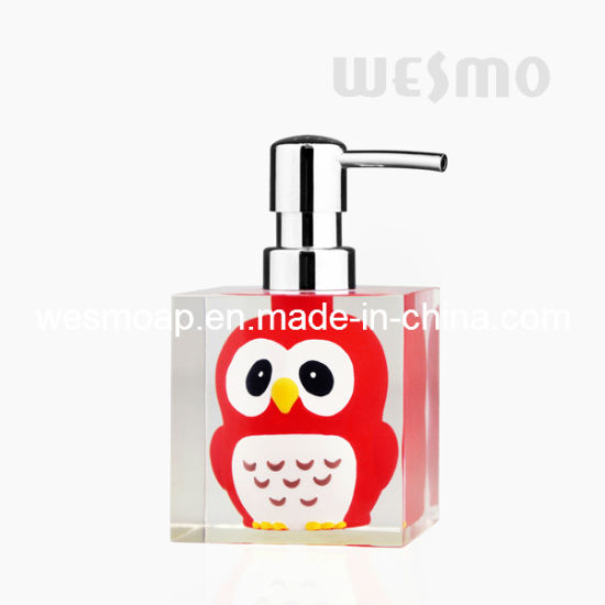 Children Style Polyresin Soap Dispenser (WBP0848A) pictures & photos