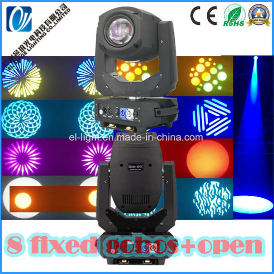 Robin 200W LED Moving Head Beam Spot Wash Moving Head Light with Zoom